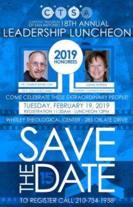 2019 Catholic Television of San Antonio Leadership Luncheon @ Whitley Theological Center