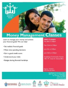 Money Management Class @ Guadalupe Community Center